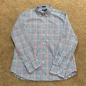 NWT! J. Crew Mercantile flex XL men's casual shirt